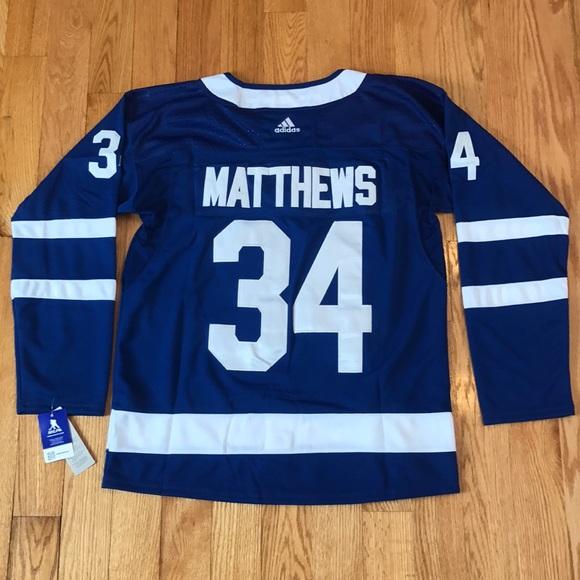 fa66f4e86 Toronto Maple Leafs Hockey Jersey MATTHEWS  34